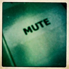 mute button by woodleywonderworks on Flickr