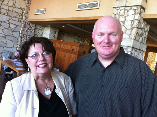 Jill Carl and Erik Blair