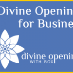 divine openings for business logo