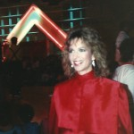 Rox (aka Annie) Head Judge at the First Crystal Light Aerobics Championship on ESPN