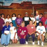 Navajo Elders - just got certified as Community Fitness Leaders