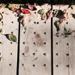 Leaves on the boardwalk at Glendalough