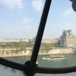 iew of The Louvre Museum from Musée d'Orsay, across the River Seine