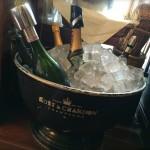 Champagne! At Cafe de Flore