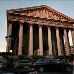Paris at rush hour, driving by Madeleine Churchill, via @Uber_Paris