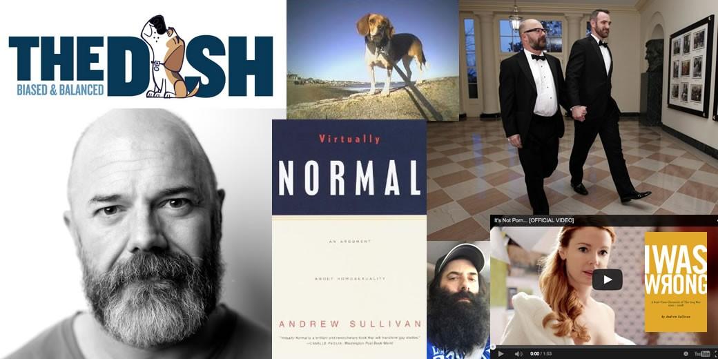 Celebrating Andrew Sullivan, blogger, disher